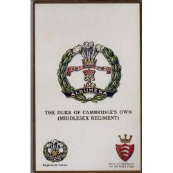 Insigne de régiment - The Duke of Cambridge's own Carte n'ayant pas voyagé