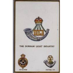 Insigne de régiment - The Durham Light Infantry Carte n'ayant pas voyagé