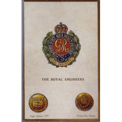 Insigne de régiment - The Royal Engineers Carte n'ayant pas voyagé