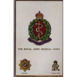 Insigne de régiment - The Royal Army Medical Corps Carte n'ayant pas voyagé