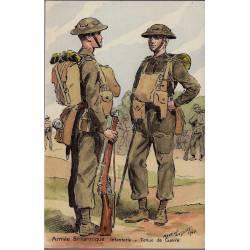 Armée Britannique - Infanterie tenue de guerre - 1940 Illustrée par Maurice To