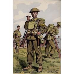 Armée Britannique - Infanterie - Tenue de campagne 1939 Illustrée par Maurice