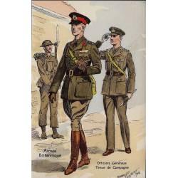 Armée Britannique - Officiers généraux - Tenue de campagne 1940 Illustrée par