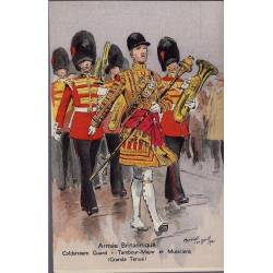 Armée Britannique - Coldstream Guard - Tambour Major Illustrée par Maurice Tou