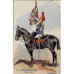 Armée Britannique - Horse Guard - 1940 Illustrée par Maurice Toussaint - Carte