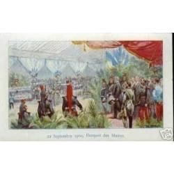 22 SEPTEMBRE 1900 BANQUET DES MAIRES