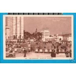 75 - EXPO INTERNATIONALE 1937 - PLACE DE VARSOVIE