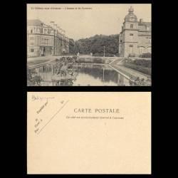 Belgique - Le chateau royal d'Ardenne - L'annexe et les fontaines
