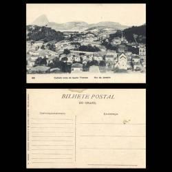 Bresil - Cattete visto de Santa Thereza - Rio de Janeiro