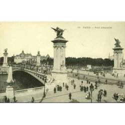 75 - PARIS - LE PONT ALEXANDRE