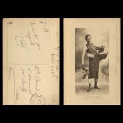 Egypte - Types - Arguissouz's merchant - Beau plan