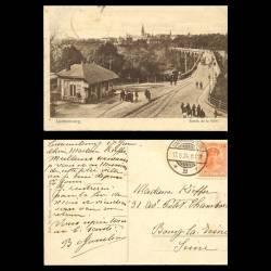 Luxembourg - Entrée de la ville