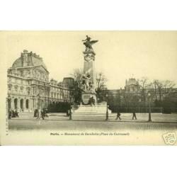 75 - PARIS - MONUMENT GAMBETTA