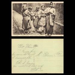 Maroc - Scènes et types - Groupe d'enfants mauresques - Beau plan