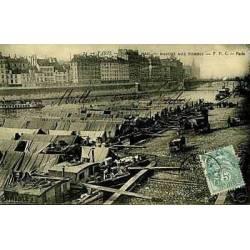 75 - Paris - Port du Mail - Marche aux pommes - 1906