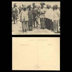 A travers le maroc - Tirailleurs sénégalais et leurs femmes - Beau plan