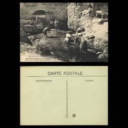 Maroc - Scènes et types - Vue d'un Oued dans le Bled - Animée