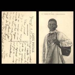 Maroc - Scènes et types - Cireur indigène - Beau plan