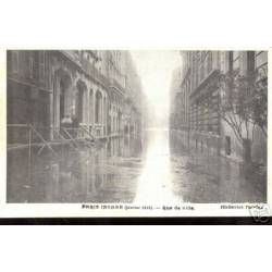 75 - PARIS INONDE 1910 - RUE DE LILLE