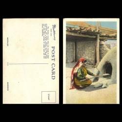 Mexique - Mexico - Baking Bread , pueblo of Tesuque