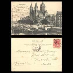 Pays-Bas - Amsterdam - P.H. Kade met St. Nicolaaskerk - 1903