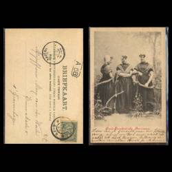 Pays-Bas - Zuid-Bevelandsche Boerinnen - 1900