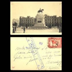 Perou - Lima - Monumento a San Martin - 1938