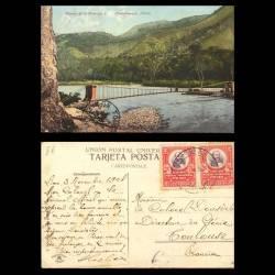 Perou - Chanchamayo - Puente de la Peruvian C. - 1908