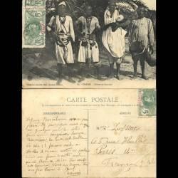 Sénégal - Dakar - Griots ou Sorciers - Carte pliée