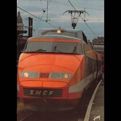 TGV - Record du monde de vitesse sur rail 380km/h le 26 février 1981 - Carte neuve