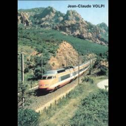 Le TGV sud-Est dans l'Esterel - Carte neuve