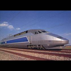 Le TGV atlantique  - Rame 318 - Carte neuve