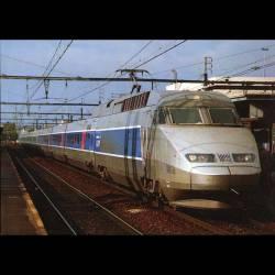 Le TGV atlantique  - Rame 322 - Carte neuve