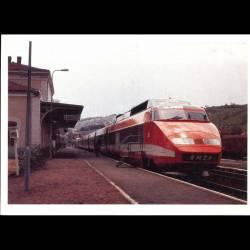 Le TGV Ville de Langeac en gare - Carte Neuve