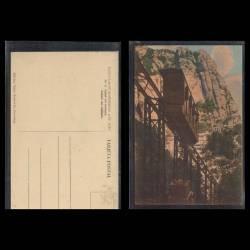 Espagne - Detall del viaducte - Funiculare de Montserrat a St Joan