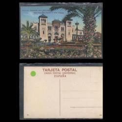 Espagne - Vista parcial del palacio de Artes antiguos - Exposicion Ibero-Americana