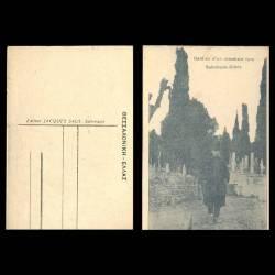 Grece - Salonique - Gardien d'un cimetière Turc