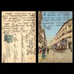 Italie - Milano - Via Dante - Caléche - Couleur