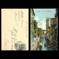 Italie - Venise - Canale delle Maravege - Gondoles