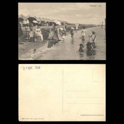 Italie - Venise - Plage du Lido - Animée - Enfants
