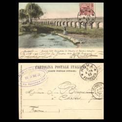 Italie - Rome - Avansi dell'Acquedotto di Claudio
