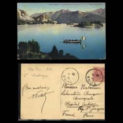 Italie - Lago Maggiore - Isola Bella con Barca di S. M. La Regina Margherita