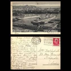 Italie - Genova - Transatlantici in porto