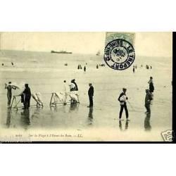 76 - Sur la plage à l'heure du bain