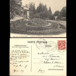 Suisse - Les Avants - Pendule de fleurs