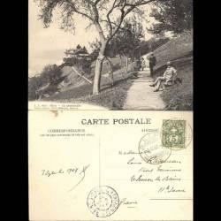 Suisse - Glion - La promenade