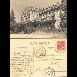 Suisse - Glion - Hotel Victoria - Terrain de tennis