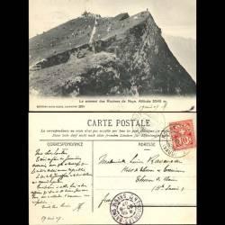 Suisse - Le sommet des rochers de Naye