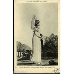 76 -Costume dessine a la foire de St Georges pres Rouen