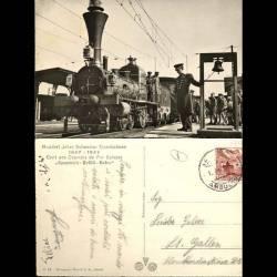 Suisse - Centenaire des chemins de fer Suisses - Spanisch - Brötli - Bahn - 1847-1947